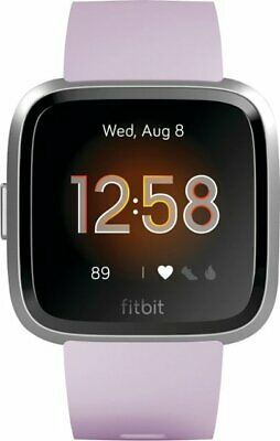 Fitbit Versa Lite Edition Smartwatch with Heart Rate Monitor - Lilac/Silver
