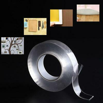 Reusable Multifunction Double Sided Adhesive Nano Clear Tape Removable Washable