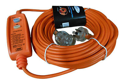 Marten® 20m 16a Cable Extension Lead with In-Line RCD For Bouncy Castle Blowers