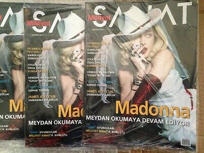 Milliyet SANAT MADONNA COVER Turkish magazine Turkey JUNE 2019