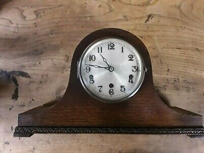 Beautiful  Condition Napoleon Hat 1930's Westminster Chime Clock