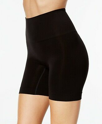 SPANX Women's Everyday Shaping Panties Mid-Thigh Short 10149R Black Nude S M XL