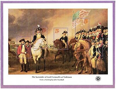 Set Of 4 American Bicentennial Souvenir Sheets Scott #1686-1689 Mnh