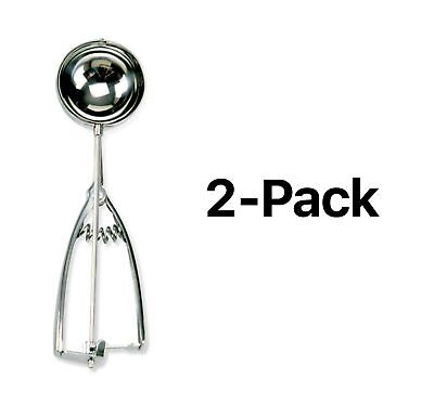 Norpro 4 Tbsp. Stainless Steel Spring Action Scoop, 8 ¾ Inches (Pack of 2)