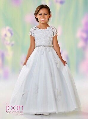 fe7c8d043 JOAN CALABRESE FOR Mon Cheri Lace And Tulle Beaded First Communion ...