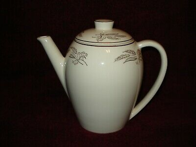 Homer Laughlin Prairie Gold Coffee Pot