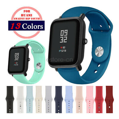 Soft Silicone Sport Bracelet Band Strap For Xiaomi Amazfit Bip Youth Watchband