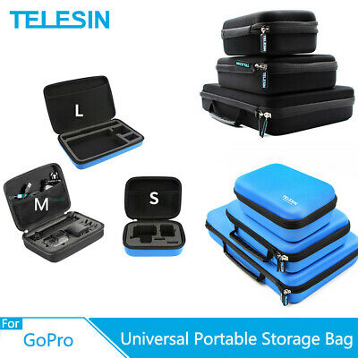 TELESIN Portable Camera Carrying Storage Bag Shocckproof Case For GoPro XiaoYI