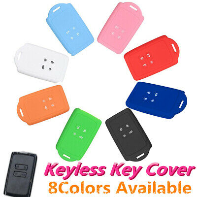 4 Button Silicone Remote Key Fob Cover Holder For Renault koleos Kadjar  16-17