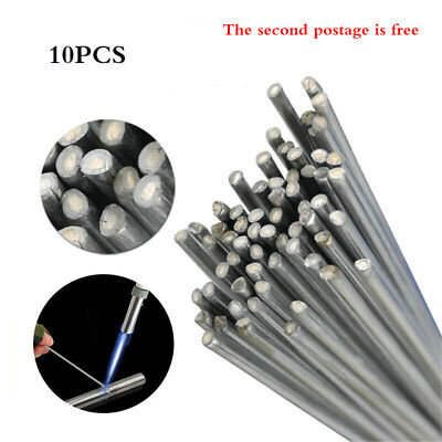 "10PCS Dia 2mm L 20"" Easy Aluminum Welding Rods Wire, No Need Solder Powder AU"