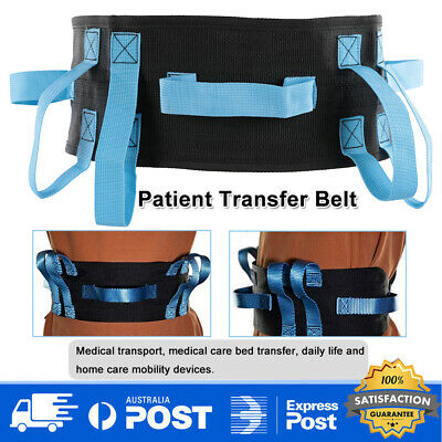 Patient transfer belt Walking Moving Tool with Hand Grips Buckle Patient Safety