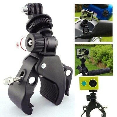 Handlebar Bike Bicycle Mount Roll Clamp Clip Stand Holder For Gopro- Hero Camera