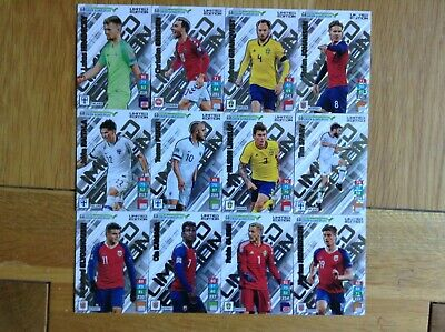 Panini Adrenalyn XL UEFA Road to Euro2020 Limited Edition cards