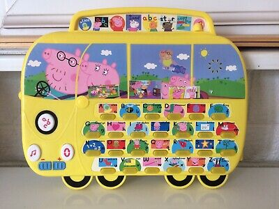 Peppa Pig Camper ABC Phonics Activity Board Light Up Musical Games