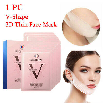3D Thin Face Reduce Double Chin Facial Lifting Firming V-Shape Mask Skin Care