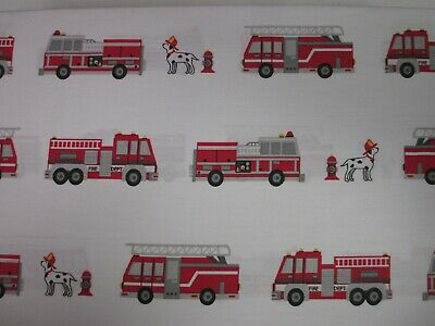 Authentic Kids Fire Truck Dalmatian Dogs Hydrant Firetruck