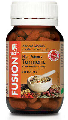 Fusion Health High Potency Turmeric 60 Tabs