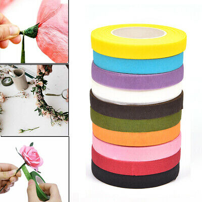 Artificial Flower Wrap Florist Floral Stem Tape Corsages Buttonhole