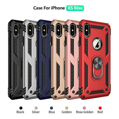 For i Phone XS Max XR XS X 8 7 Plus 6s Tough Shockproof Armor Hybrid Case Cover