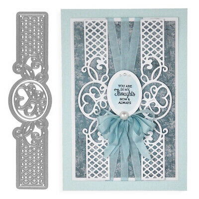 Flower Lace Edge Metal Cutting Dies Scrapbook Greeting Card Album Stencil NEW