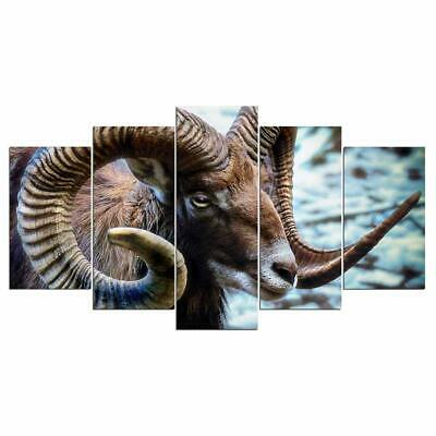 Art HD Print Home Décor Goat Modern Paintings Wall Poster Picture