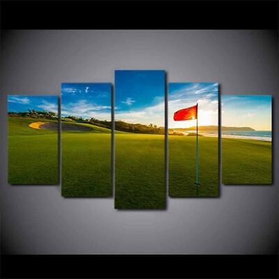 Art HD Print Home Décor Golf Modern Paintings Wall Poster Picture