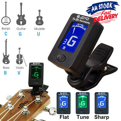 Banjo OUD ^13!W Ukulele Bass Guitar Tuner *Clip On Chromatic Violin JOYO