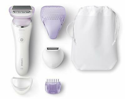 Philips SatinShave Prestige Wet & Dry Electric Lady Shaver with 5 Accessories -