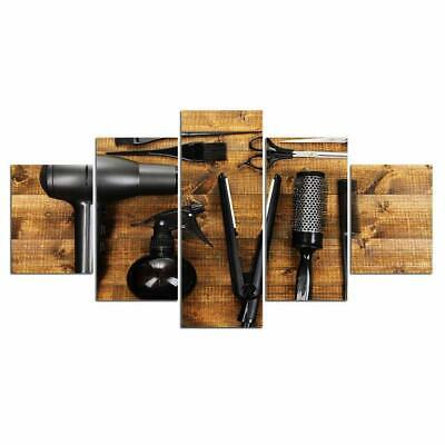 Art HD Print Home Décor Hair Saloon Tools Modern Paintings Wall Poster Picture