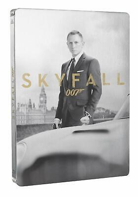 Skyfall Steelbook  Blu Ray + Dvd  + 8 Cartes Collectors  Neuf Sous Cellophane