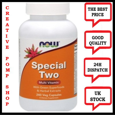 Now Foods Special Two, The best Multi vitamin, 240 veggie caps, Vegan him/her