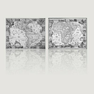 Abstract Map Color Canvas Art Painting Print Picture Poster Home Decorati❖8