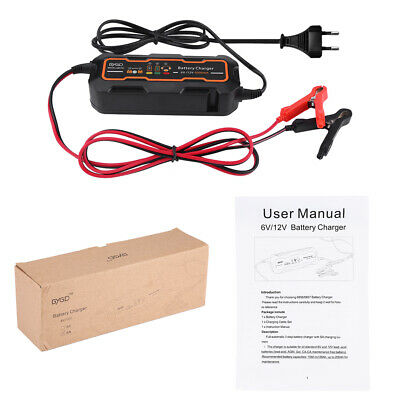 6V 12V 5A Automatic Smart Battery Charger Maintainer Trickle Lead acid Chargers