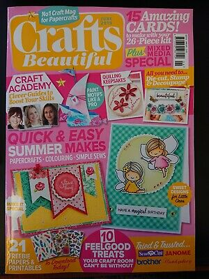 Crafts Beautiful Magazine JUNE 19 WITH FREE GIFT