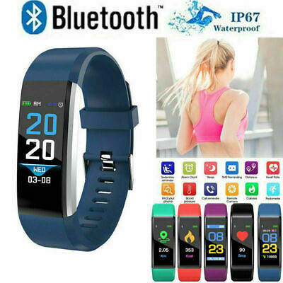 Fitness Smart Watch Fitbit Activity Tracker Heart Rate Android iOS WomenMen Kids