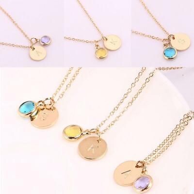 Women Fashion Personality Letter Pattern Pendant Necklace Clavicle Chain EA9 01
