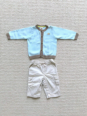 Lot 12-18 Months Boys Old Navy Jeans H&m Gray Cardigan Clothing, Shoes & Accessories