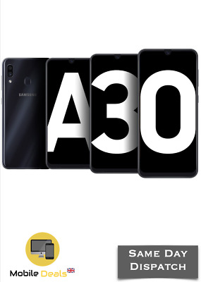 New Samsung Galaxy A30 3GB Ram 32GB 2019 Android Smartphone 4G LTE ALL COLOURS