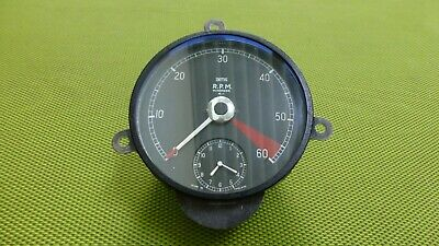 Jaguar XK 150 Rev Counter / Toerenteller / Tachometer incl. clock