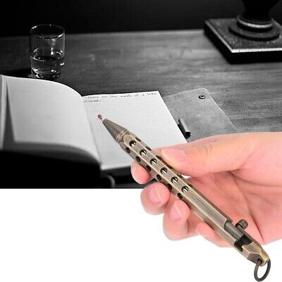 Office Bolt Action Ball Point Sign Pen High Grade Retro Exquisite Handmade Gift