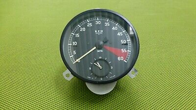 Jaguar XK 150 Electronic Rev Counter / Toerenteller / Speedometer with clock