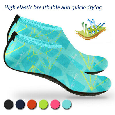 Unisex Adult Kids Barefoot Water Skin Shoes Aqua Socks Beach Swim Surf Yoga GEM