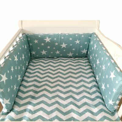 Baby Bed Bumpers Thicken One-piece Crib Around Cushion Cot Protector Pillows