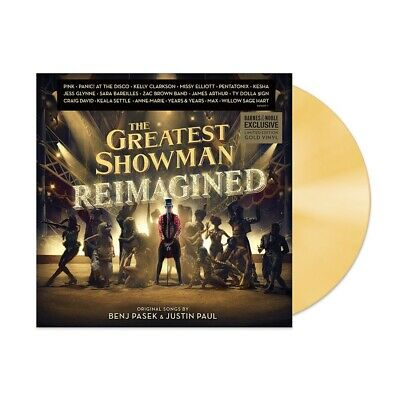 Various Artists | The Greatest Showman (Reimagined) [Gold Vinyl LP]