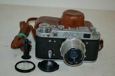 Fed-2, Type D5, Vintage 1967 Soviet Rangefinder Camera & Lens. 6720467. UK Sale