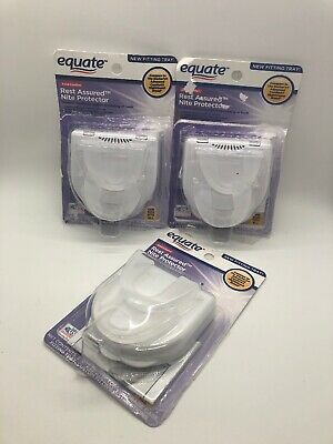 Open Box 3 Equate Rest Assured Night Protector (Compare To The Doctor's Brand)