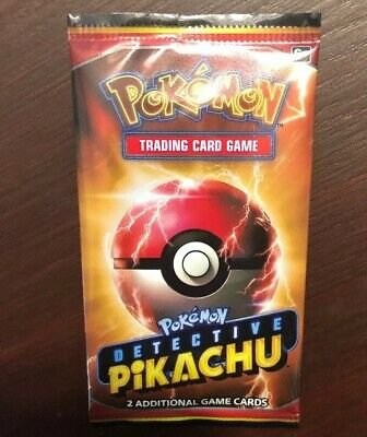 Detective Pikachu Movie 2019 Promo 2 Card Pack Pokemon New Sealed