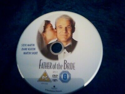 Father of the bride DVD Steve Martin Disc only no case