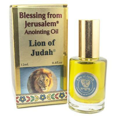 Christianity Anointing Oil Lion of Judah Blessing from Jerusalem Biblical Spice