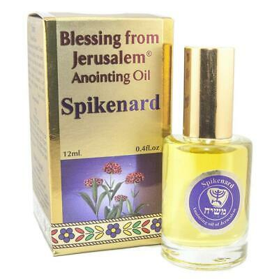 Christianity Pure Anointing Oil Spikenard Blessing from Jerusalem Biblical Spice